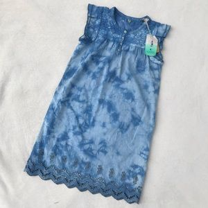 SCOTCH R'BELLE Girls' Tie-Dye Dress